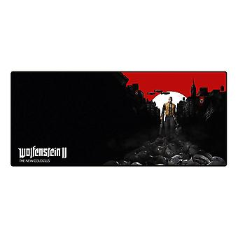 Wolfenstein II Oversize Mousepad Trail of the Dead pads Multi color (GE3441)