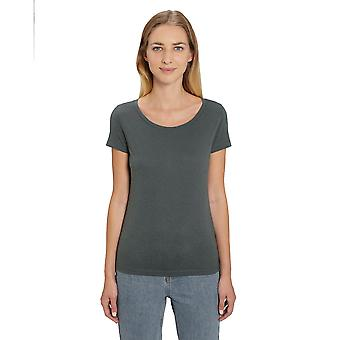 greenT Womens Organic Lover Modal Round Neck Casual T Shirt