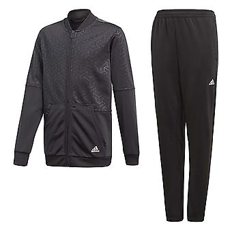 Adidas Junior Boys YB Iconic Tracksuit - CF7357