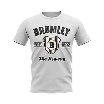Bromley Established Football T-Shirt (White)