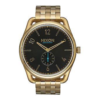 Nixon SS C45 Herrenuhr tutto oro nero (A951510)