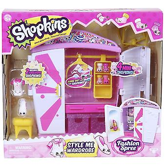 Shopkins Style Me Wardrobe Playset - Series 5