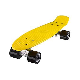 完全な 55 cm オリジナル 22 インチ イエロー リッジ スケート ボードでミニ クルーザー ボード