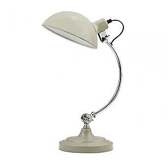 Premier Home Vermont Table Lamp, Metal, Cream
