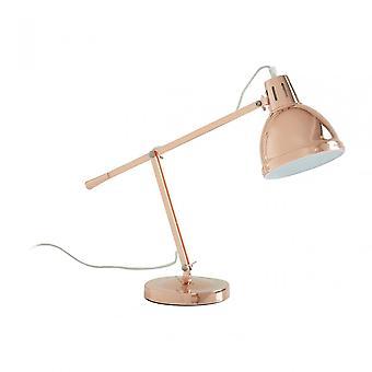 Premier Home Jasper Table Lamp, Metal, Copper
