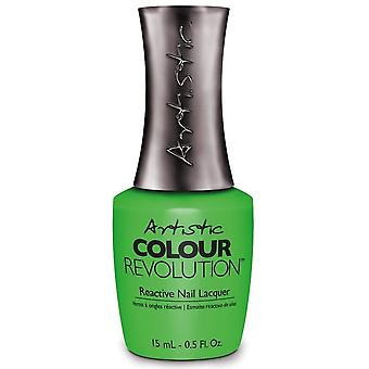Artistic Colour Revolution Crave The Rave 2018 Nail Polish Collection - Let's Get Electric (2300183) 15ml