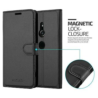 Cadorabo case for Sony Xperia XZ2 case case cover - phone case with magnetic clasp, stand function and card compartment – Case Cover Protective Case Case Book Folding Style