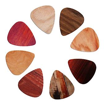 10 packung Plektrum, Holz