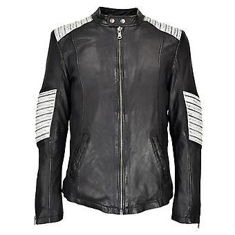 Men's Leather Jacket Iron XT