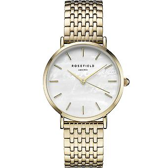 Rosefield upper east side Watch for Women Analog Quartz with STAINLEss Steel Bracelet In Gold Plated EUWG-U21
