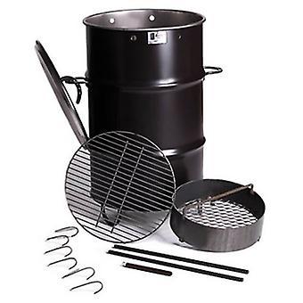 Fossa barile UK fornello botte grande barbecue tamburo Grill fumatore