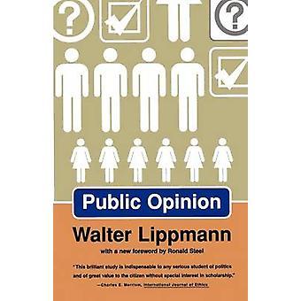 Publieke opinie door Lippmann & Walter
