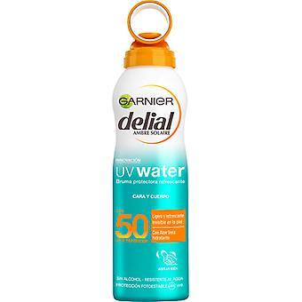 Delial UV apă bruma Protectora Spf50 200 ml unisex