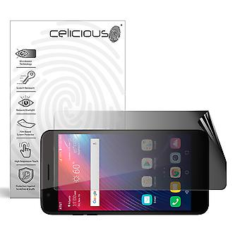 Celicious Privacy 2-Way Landscape Anti-Spy Filter Screen Protector Film Compatible with LG Phoenix Plus