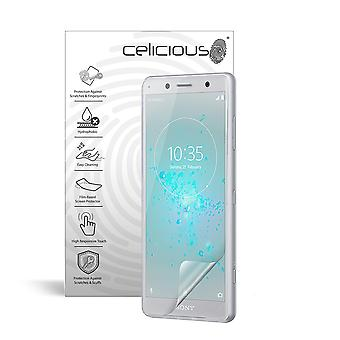 Celicious Impact Anti-Shock Shatterproof Screen Protector Film Compatible with Sony Xperia XZ2 Compact