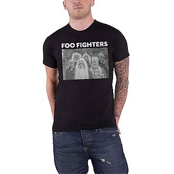 Foo Fighters T Shirt Old Band photo logo new Official Mens Black