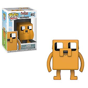 Adventure time x Minecraft Jake pop! Vinyl