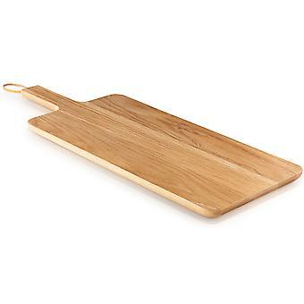 Assolo di Eva tagliere in legno nordico cucina fatta di quercia 44 x 22 cm