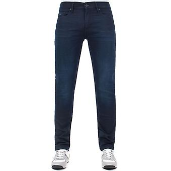 BOSS Skinny Fit Charleston Jeans In dunkelblau 406
