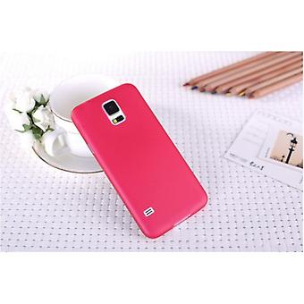 Galaxy S5 Ultra-mince coque de protection couvercle rouge