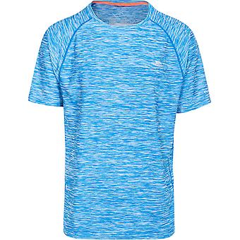 Overtreedt Mens Gaffney Short Sleeve Wicking Fitness Running T-Shirt