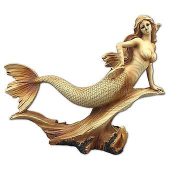 Sieben Meere Meerjungfrau Harz Plaque