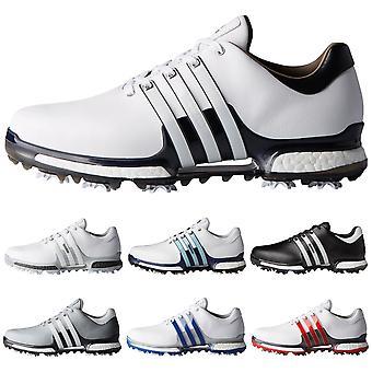 Adidas Golf mens Tour 360 Boost 2,0 WD waterdichte lederen golf schoenen