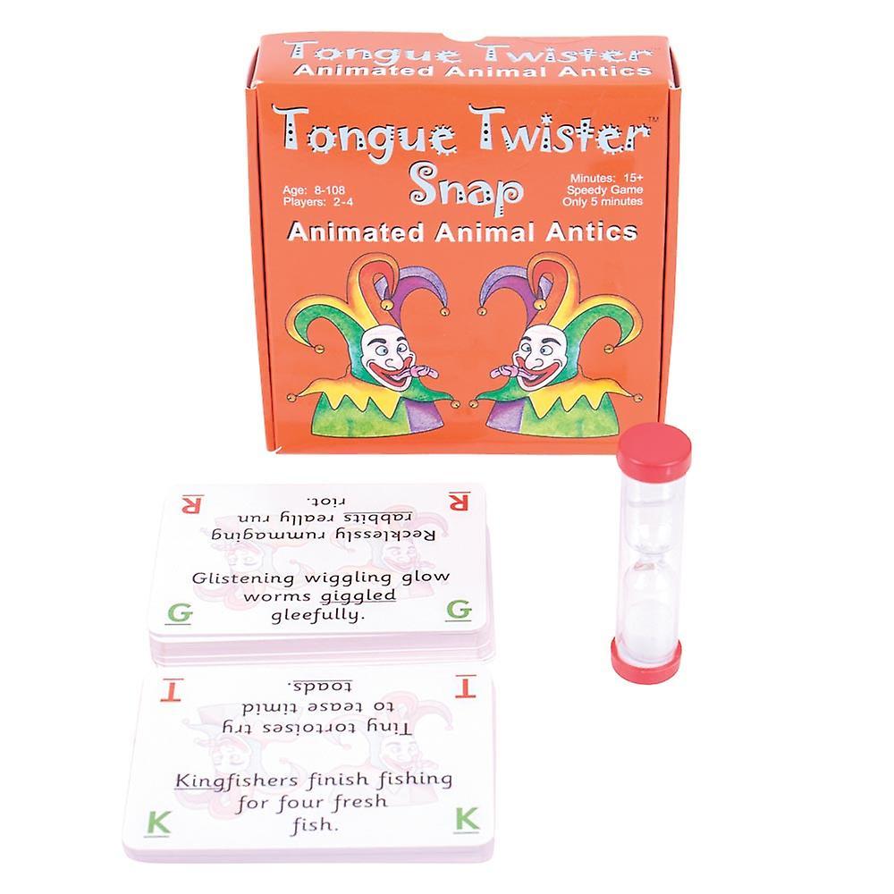 Tongue Twister Snap - Animated Animal Antics