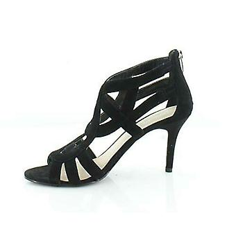 Marc Fisher Womens nala Peep Toe Casual Ankle Strap Sandals