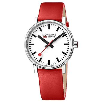 Mondaine Quartz Analogue Classic Display Stainless Steel Strap Watch MSE.40110.LC
