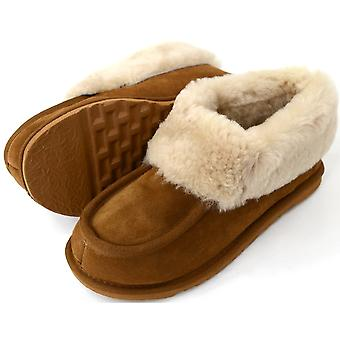 Snugrugs dames schapenvacht Slipper Boot wol manchet