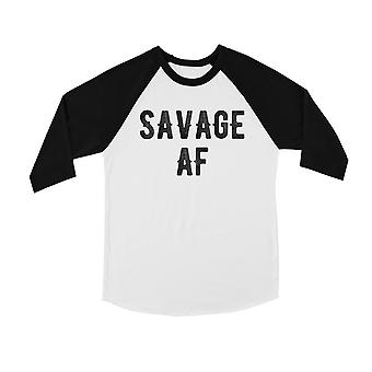365 Printing Savage AF Youth Baseball Jersey betrouwbare eerbare ware vriendschap