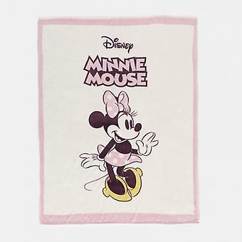 Manta a cuadros en franela Minnie Classic