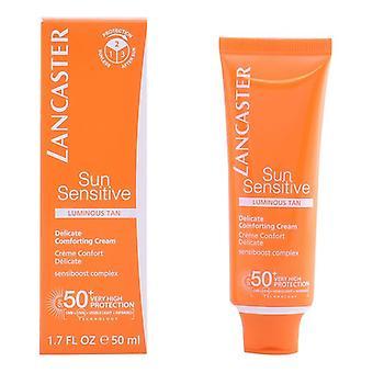 Crème solaire faciale Sun Sensitive Lancaster Spf 50 (50 ml)