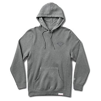 Diamond Supply Co Brilliant Core Hoodie Gunmetal Heather