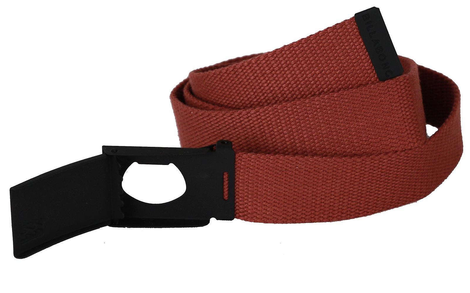 Billabong Woven Cotton Web Belt With Bottle Opener ~ Cog sangria