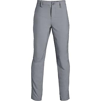Under Armour Boys Match Play Tapered Pant Grey