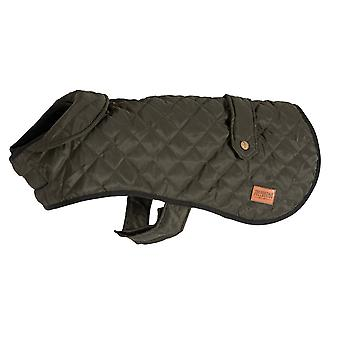 Ancol Heritage Quilted Dog Coat