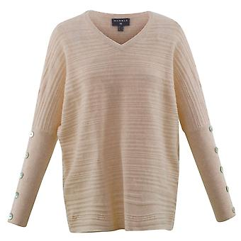 MARBLE Marble Red Or Beige Sweater 5677