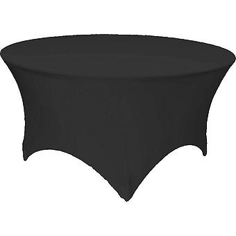 5 Foot Round Spandex Stretchable Lycra Tablecloth
