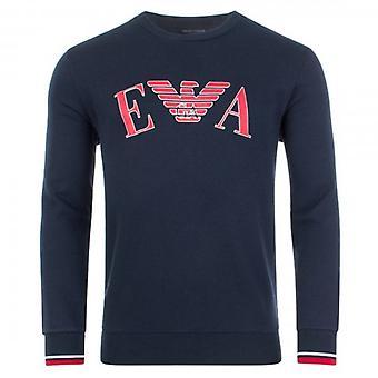 Emporio Armani Underwear Navy Crew Neck Sweatshirt 111785 9A571