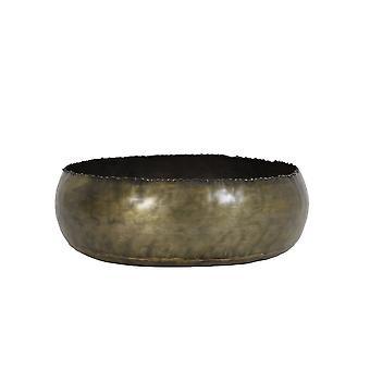 Licht & Living Schale 30x8cm Gaja Bronze