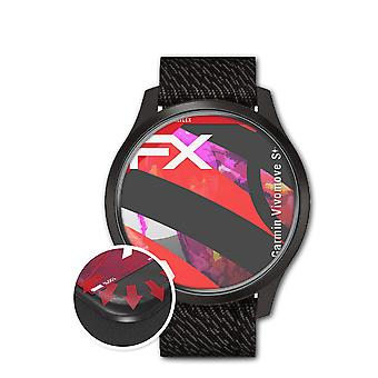 atFoliX 3x Protective Film compatible with Garmin Vivomove Style Screen Protector clear&flexible