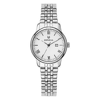 ORPHELIA Women Analogue Watch The Minimalist Silver Stainless steel OR12706