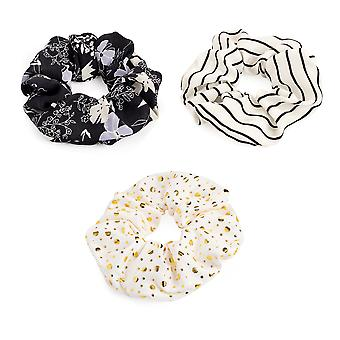 Stylish 5.5cm Elasticated Hair Scrunchie Various Styles