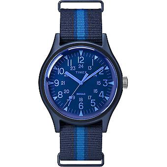 Timex MK1 Fabric Indiglo Mens Watch TW2T25100