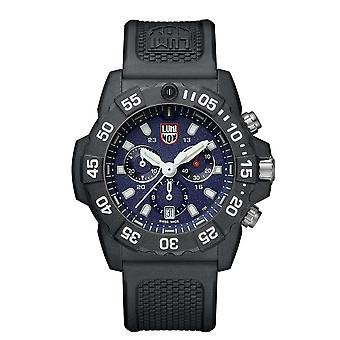 Luminox Navy SEAL Quartz Blue Dial Chronograph Men's Watch XS.3583