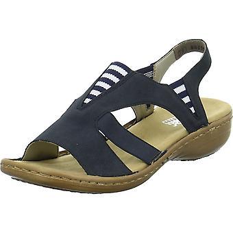 Rieker Sandal 608Y714 universellsommer dame sko