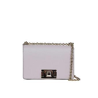 Furla 1031801 Women's Beige Leather Shoulder Bag
