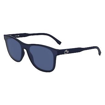 Lacoste L907S 424 Matte blå/blå solbriller